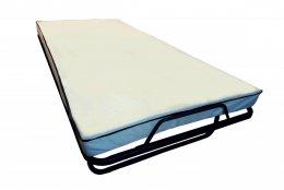 Łóżko składane polowe Dostawka Hotelowa LUXOR 90x190cm materac 11cm grubości