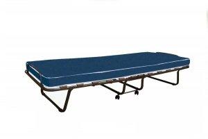 Łóżko składane, dostawka hotelowa ROMA 190 x 80 cm, materac 7cm