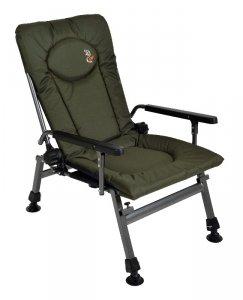 Fotel wędkarski CARP F5R, wytrzymałość 120kg