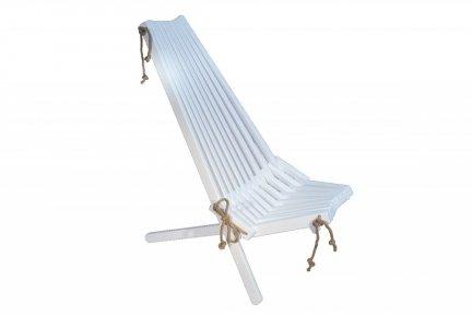 Fotel drewniany EcoChair brzoza biala