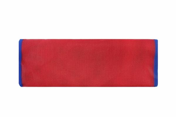 siatka do leżaka czerwona