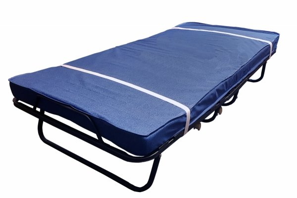 Łóżko składane TORINO Premium 190 x 80 materac 13 cm