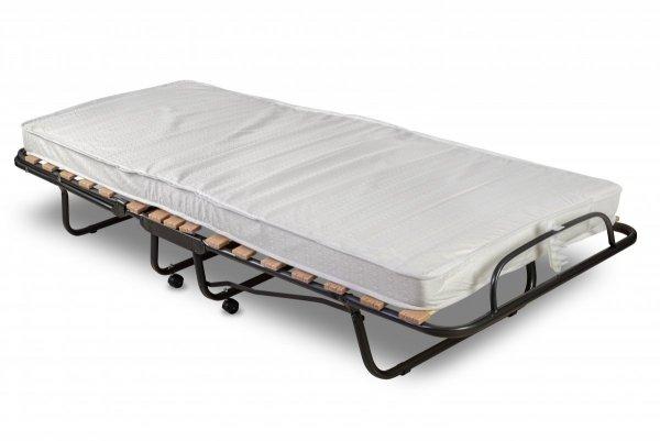 Łóżko Tokio rozłożone ze złożonym podgłówkiem
