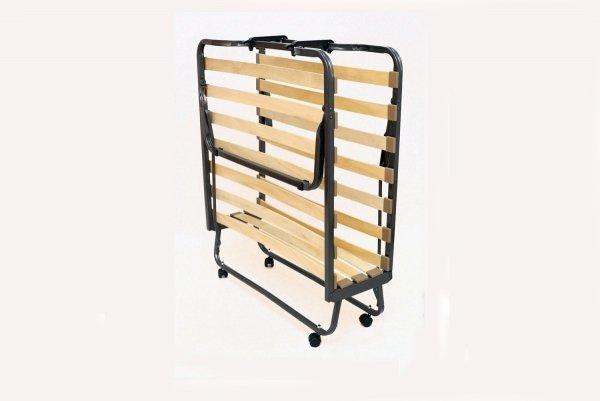 Złożony stelaż łóżka składanego hotelowego 200x90