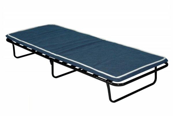 Łóżko polowe składane kreta z materacem 5 cm