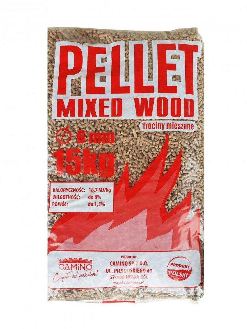 Pellet - trociny mieszane