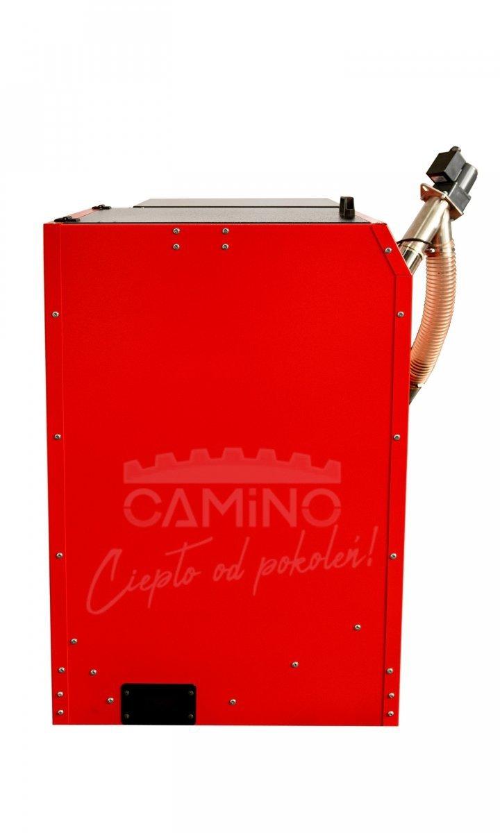 Camino 4 żeliwny kocioł na pellet z podajnikiem o mocy 20 KW ecoMax 362 simTOUCH ST4 Seperate