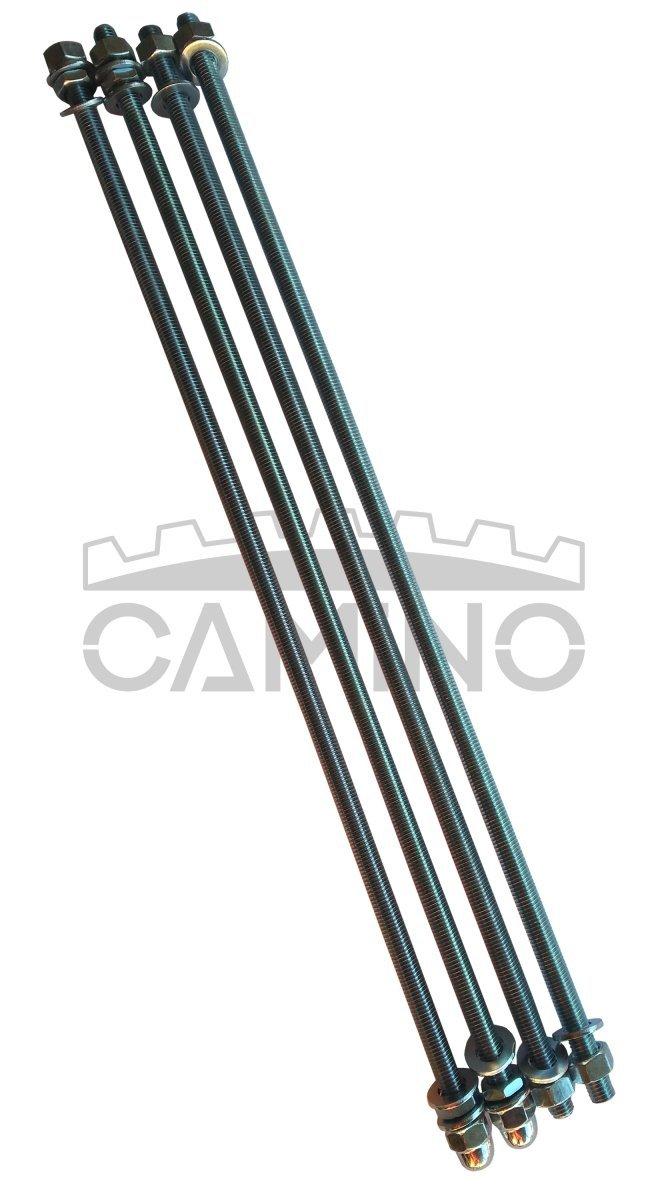 KWD Camino 3 - kompletny zestaw śrub ściągowych do kotła 9-członowego