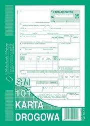Karta drogowa SM 101