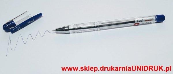 Długopis niebieski Penmate Flexi - żelowy