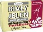 BIAŁY JELEŃ Mydło Hipoalergiczne Premium Z Głogiem 100g