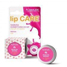 FLOS-LEK Lip Care Wazelina Kosmetyczna Różana 15g (Data ważności 06/19)