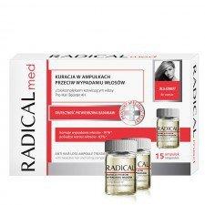 FARMONA RADICAL Med Kuracja W Ampułkach Przeciw Wypadaniu Włosów Dla Kobiet 15x5ml