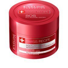 EVELINE SWISS RECIPE PÓŁTŁUSTY KREM REGENERUJĄCY 50ML