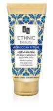 AA Ethnic Beauty Krem Maska Do Rąk i Paznokci Odżywiający Marokański Rytuał 75ml