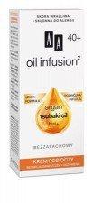 AA Oil Infusion Krem Pod Oczy Redukcja Zmarszczek + Odżywienie 40+ 15ml