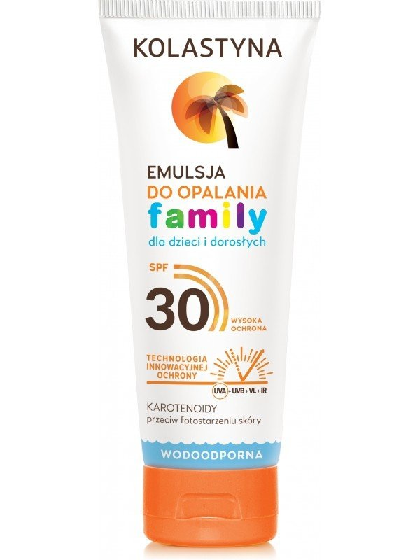 Kolastyna Emulsja Do Opalania Family SPF30 250ml