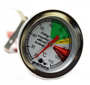 TERMOMETR DO PARZENIA HERBATY Z KLIPSEM 0+110°C