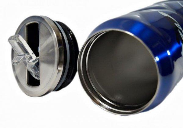 Kubek termiczny PUSZKA PIŁKA niebieski 0,5L
