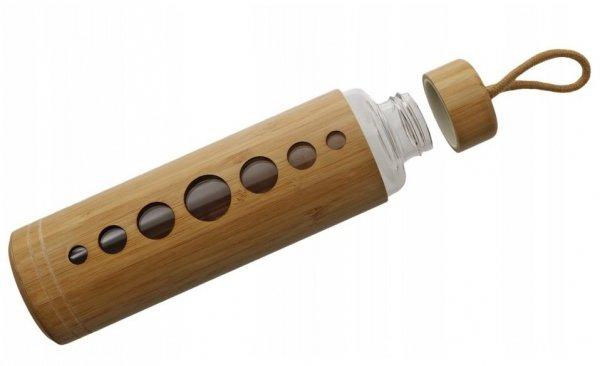 Bidon EKO Butelka szklana bambus ZERO WASTE 550 ml