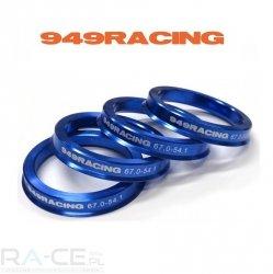 Pierścień centrujący 949 Racing 67,0 - 57,1