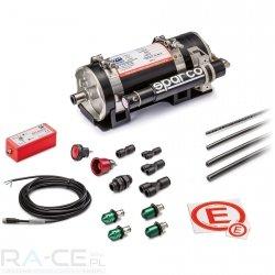 System gaśniczy Sparco aluminiowy, elektryczny 4.25L