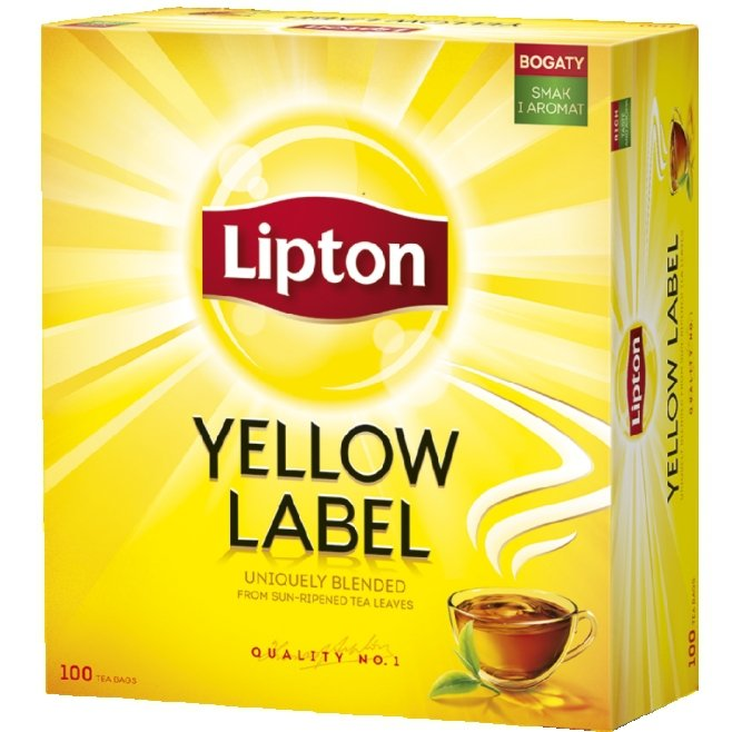 Lipton Herbata Czarna Yellow Label