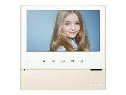 CDV-70H WHITE kolorowy ekran LCD 7 z doświetleniem LED, obsługa jednego wejścia - możliwość rozszerzenia przez MD-KAM2/4,