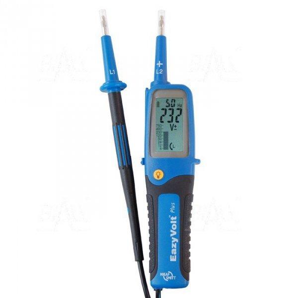 Eazy Volt Plus Tester elektryka 6..750V, LCD bargraf, znak bezpieczeństwa B
