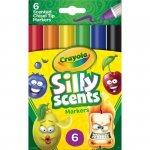 Crayola Silly Scents Markery ze ściętą końcówką