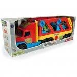 Laweta z autkami 110 cm Super Truck pudełko