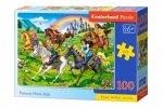 Castor Puzzle 100 elementów Księżniczki na koniach