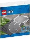 LEGO Polska Klocki City Zakręt i skrzyżowanie