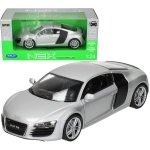 Welly Audi R8, srebrne