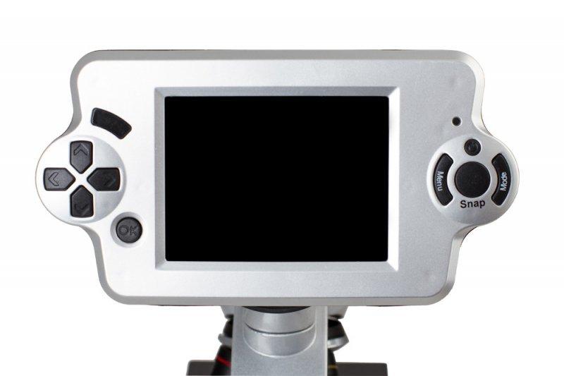 Biologiczny mikroskop cyfrowy levenhuk d70l #m1 mikroskopy dla