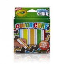 Crayola Kreda chodnikowa dwukolorowa 5 sztuk