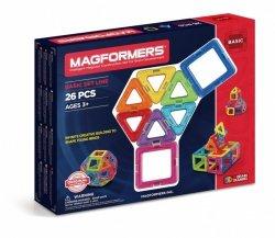 Magformers Układanka Magnetyczna 26 elementów
