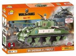 Cobi Klocki Armia World Of Tanks Sherman A1 / Firefly