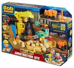 Fisher Price Bob Budowniczy Zestaw Plac budowy, Piasek kinetyczny