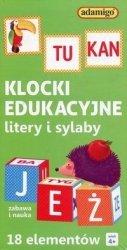 Adamigo Klocki edukacyjne 18 elementów, zielone