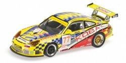 MINICHAMPS Porsche 911 GT3 RSR Autoracing Club Bratislava #77 Konopka/Casadei/Hornak 12h Sebring 2008