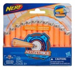 Hasbro Strzałki Nerf Nstrike AccuStrike 12 sztuk