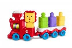 Lwi pociąg + klocki do układania