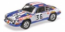 MINICHAMPS Porsche 911 S Ecurie Jean Sage #36 Waldegard/Cheneviere 24h Le Mans 1971
