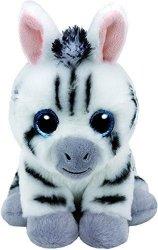 TY Beanie Babies Stripes - Zebra, 15 cm