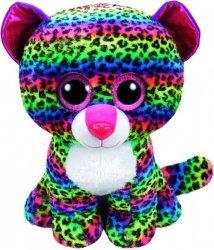 TY Beanie Boos Dotty - Kolorowy leopard 42 cm