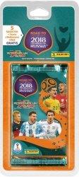 Panini Kolekcja Karty Road to Russia 2018 Blister z kartami 5+1