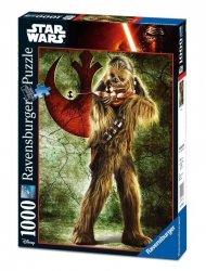 Ravensburger Puzzle 1000 elementów Star Wars, Chewbacca