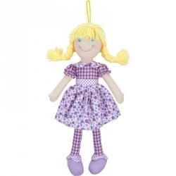 Beppe Lalka szmaciana Cornelia 38 cm, blondynka fiolet
