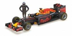 MINICHAMPS Red Bull Racing TAG Heuer RB12 #3 Daniel Ricciardo Austrian GP 2016 w/Figurine